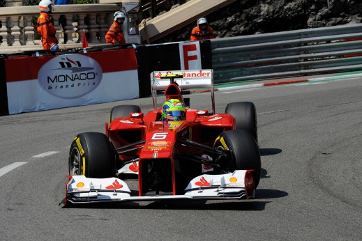 Felipe Massa at the 2012 Monaco Grand Prix © Ferrari