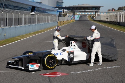 18-1-2013_NEWS_Sauber launch Jerez 2012