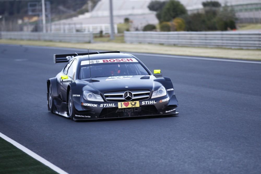 Kubica tests Merc DTM car - photo gallery (2/6)