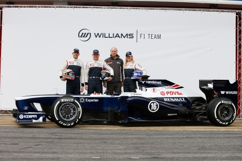 Photo credit: Williams F1 team