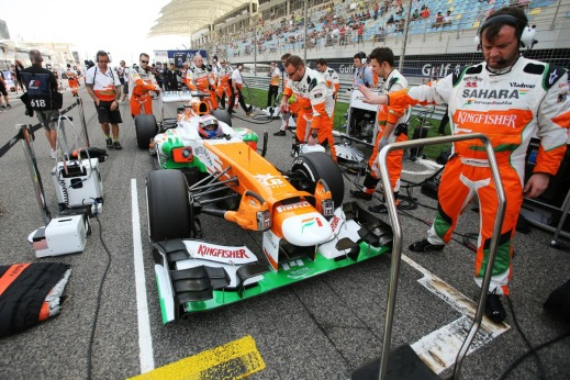 (Source: Sahara Force India Formula One Team)