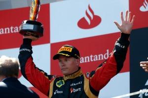 Kimi Raikkonen (Andrew Ferraro/Lotus GP)