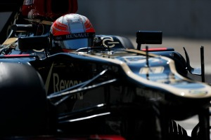 Romain Grosjean will be aiming for his first F1 pole position in Hungary (Charles Coates/Lotus F1 Team)