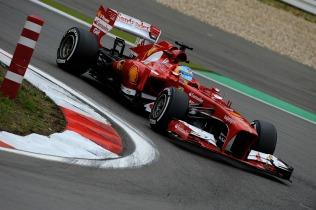 Fernando Alonso, 2013 Germany Grand Prix, Friday Practice (Image: Ferrari)