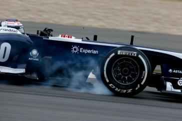 Valtteri Bottas, 2013 Germany Grand Prix, Friday Practice (Image: Charles Coates/Williams F1)