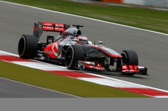 Jenson Button, 2013 Germany Grand Prix, Friday Practice (Image: Vodafone McLaren Mercedes)