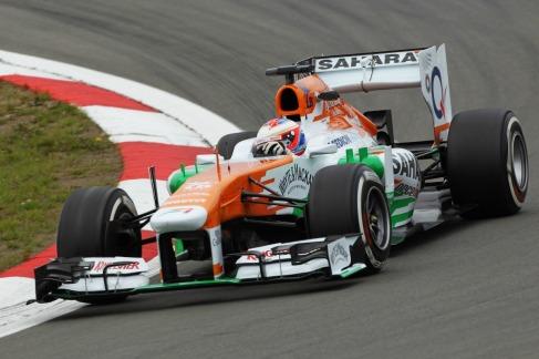 Paul Di Resta, 2013 Germany Grand Prix, Friday Practice (Image: Force India)