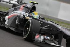 Esteban Gutierrez, 2013 Germany Grand Prix, Friday Practice (Image: Sauber Motorsport AG)