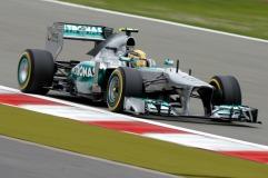 Lewis Hamilton, 2013 Germany Grand Prix, Friday Practice (Image: Daimler AG)