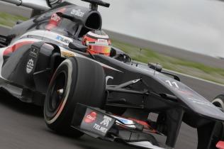 Nico Hulkenberg, 2013 Germany Grand Prix, Friday Practice (Image: Sauber Motorsport AG)