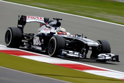 Pastor Maldonado, 2013 Germany Grand Prix, Friday Practice (Image: Glenn Dunbar/Williams F1)