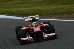 Felipe Massa, 2013 Germany Grand Prix, Friday Practice (Image: Ferrari)