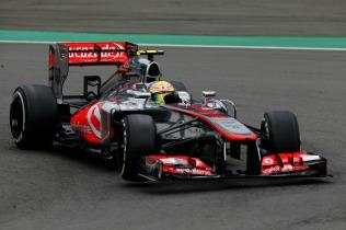 Sergio Perez, 2013 Germany Grand Prix, Friday Practice (Image: Vodafone McLaren Mercedes)