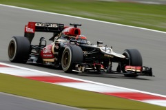 Kimi Raikkonen, 2013 Germany Grand Prix, Friday Practice (Image: Glenn Dunbar/Lotus GP)