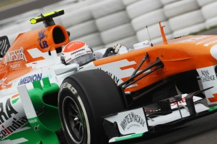 Adrian Sutil, 2013 Germany Grand Prix, Friday Practice (Image: Force India)