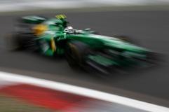 Giedo van der Garde, 2013 Germany Grand Prix, Friday Practice (Image: Caterham F1)