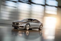 Mercedes-Benz S-Class Coupé Concept (Image: Daimler AG)