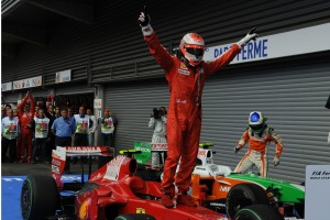 Raikkonen's final (to-date) Ferrari victory came at the 2009 Belgian Grand Prix (Image: Ferrari)