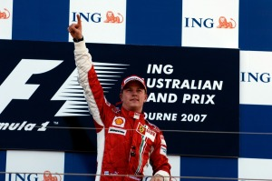 Kimi Raikkonen won his first race for Ferrari, the 2007 Australian Grand Prix (Image: Ferrari)