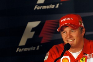 Kimi Raikkonen will wear Ferrari red again in 2014 (Image: Ferrari)