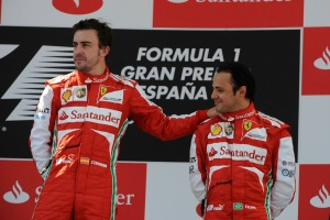 Felipe Massa has struggled to match Fernando Alonso at Ferrari (Image: Ferrari)