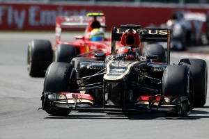 Felipe Massa is chasing after Kimi Raikkonen's seat at Lotus (Image: Charles Coates/Lotus F1)