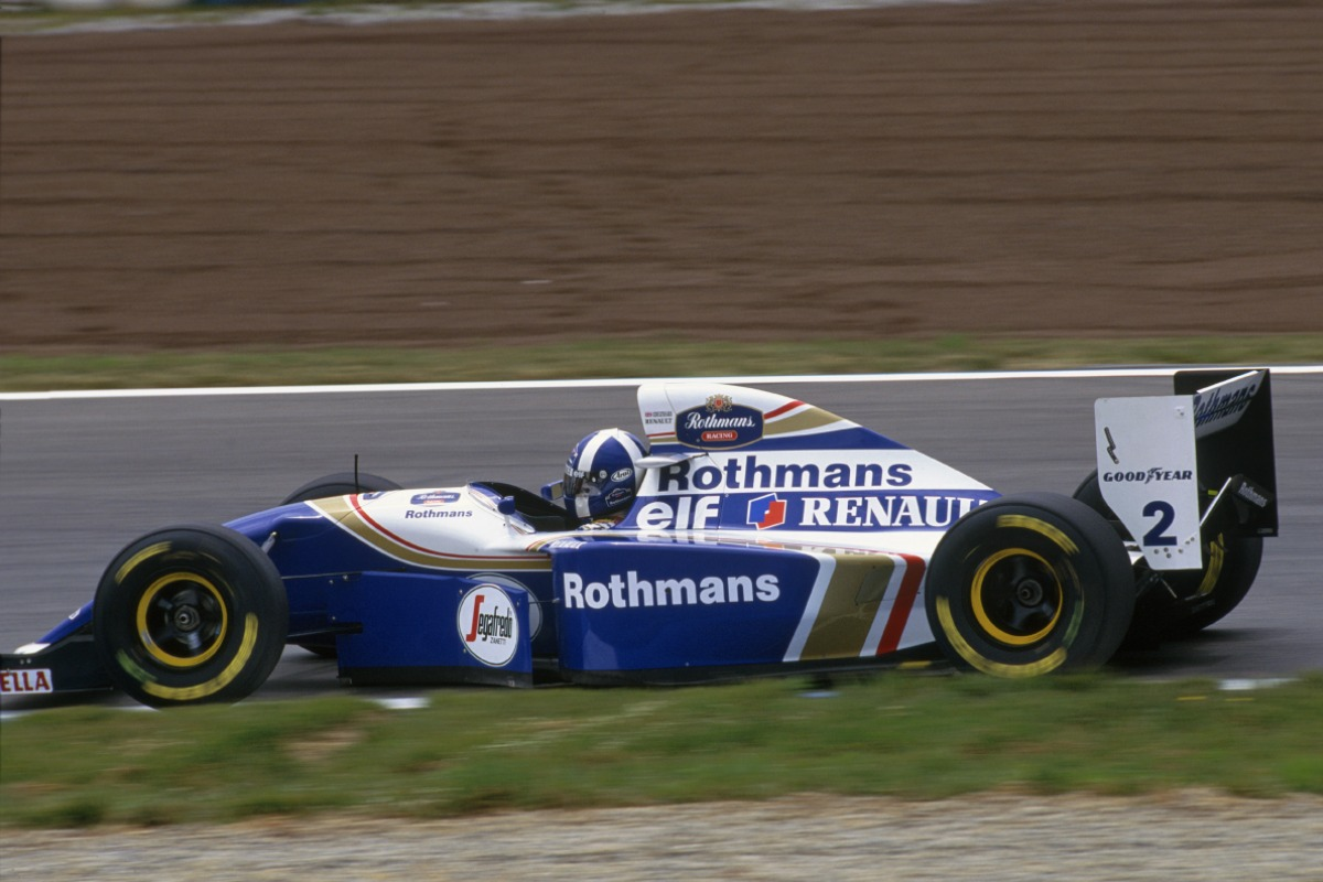 Red Bull Racing Chris On F1 Vettel Expects Indian Circuit To Be Secondfastest Track David Coulthard Driving For Williams At The 1994 Spanish Grand Prix Image Lat Photographic