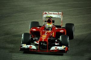 Felipe Massa could end up battling with Fernando Alonso during the Singapore Grand Prix (Ferrari)