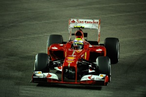 Felipe Massa could end up battling with Fernando Alonso during the Singapore Grand Prix (Ferrari)