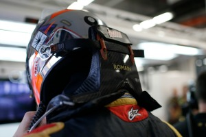Romain Grosjean finished FP3 in second place (Andrew Ferraro/Lotus F1 Team)