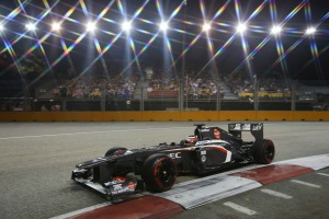Nico Hulkenberg picked up 2 points for 9th place (Image: Sauber)