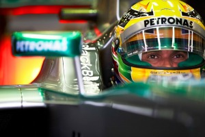 Lewis Hamilton set the pace in FP1 at Monza (Mercedes)