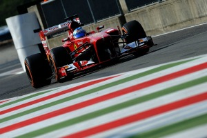 Fernando Alonso closed the gap to Sebastian Vettel in FP3 at Monza (Ferrari)