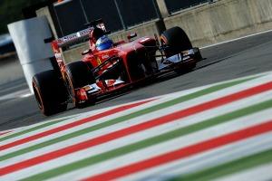 Fernando Alonso closed the gap to Sebastian Vettel in FP3 at Monza (Ferrari)
