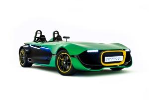 Caterham's stunning new AeroSeven concept car (Image: Caterham F1)
