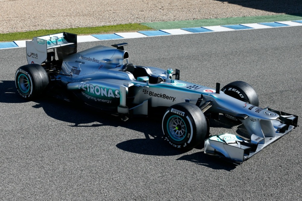 Mercedes: F1 Success Story of 2013