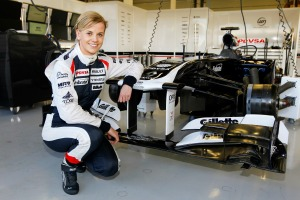 Susie Wolff will compete in the 2013 Race of Champions (Andrew Ferraro/LAT Photographic)