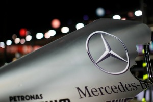 There will no longer by a V8 engine beneath the Mercedes F1 engine cover next year (Image: Mercedes)
