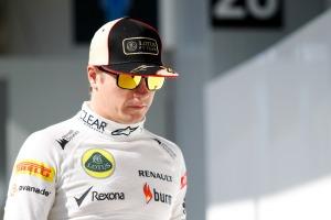 Kimi Raikkonen has driven his last race for Lotus (Image:  Andrew Ferraro/Lotus F1 Team)