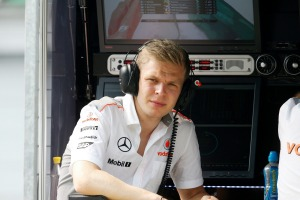 Kevin Magnussen will made his F1 debut with McLaren in 2014 (Image: McLaren)