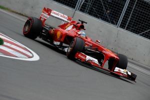 Fernando Alonso was fastest in a delayed and shortened FP1 in Austin, Texas (Image: Ferrari)