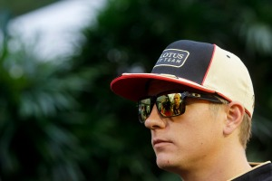 Kimi Raikkonen has undergone successful surgery on his back (Andrew Ferraro/Lotus F1 Team)