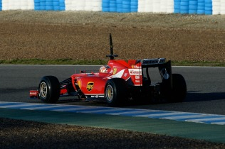Kimi Raikkonen drives the Ferrari F14 T (Image: Ferrari)