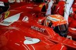 Kimi Raikkonen sits in the Ferrari F14 T (Image: Ferrari)