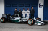 Launch of the Mercedes W05 (Image: Mercedes AMG F1)