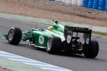 Marcus Ericsson in the Caterham CT05 (Alastair Staley/LAT Photographic)