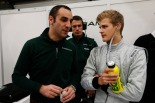 Marcus Ericsson talks to Caterham team principal Cyril Cyril Abiteboul (Andrew Ferraro/LAT Photographic)