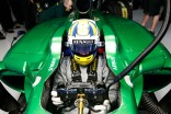 Marcus Ericsson in the Caterham CT05 (Andrew Ferraro/LAT Photographic)