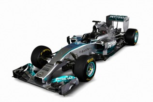 The new Mercedes W05 (Image: Mercedes AMG F1)