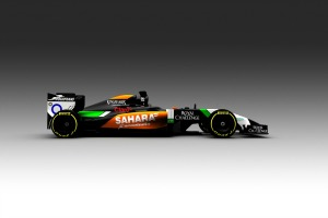 The Sahara Force India VJM07 (Image: Force India F1 Team)